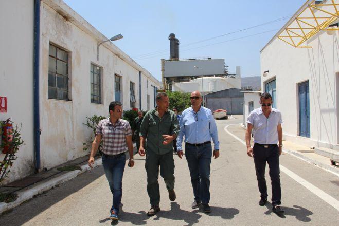 f628282ed8 Το εργοστάσιο της ΔΕΗ στην Ξυλοκαμάρα επισκέφθηκε ο Δήμαρχος Χανίων Τάσος  Βάμβουκας