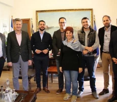 Συνάντηση Δήμαρχου Χανίων με Ένωση ξενοδόχων Χανίων