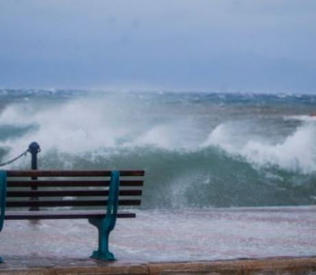Μέχρι 8 μποφόρ οι άνεμοι στο Κρητικό